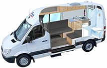 Pacific Horizon 2+1 Standard Motorhome photo