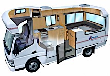 Pacific Horizon 4 Berth Mercedes Motorhome photo